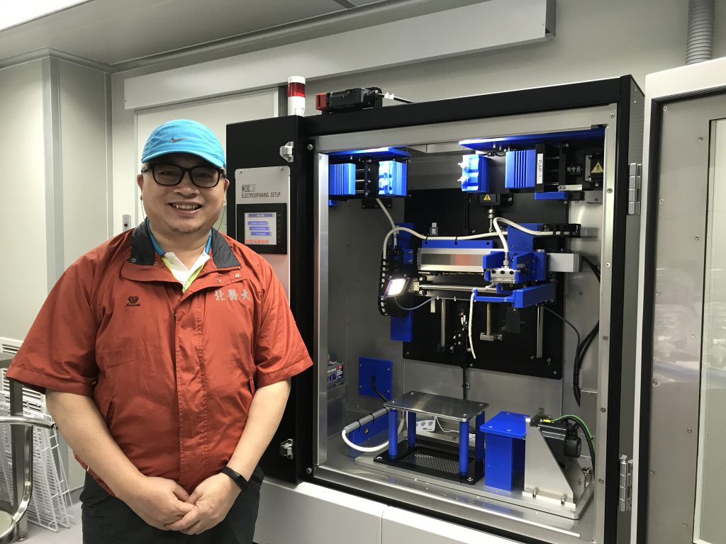 Professor Tseng How at Visionary BioMed