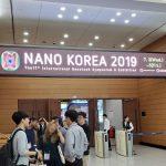 Visitting Nano Korea 2019